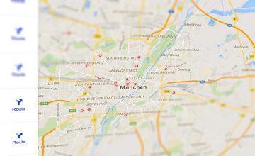 Neues Google-SERP-Layout für lokale Suchergebnisse.