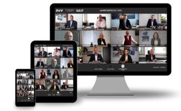Digitaler Geschäftsbericht 2020 der DVV