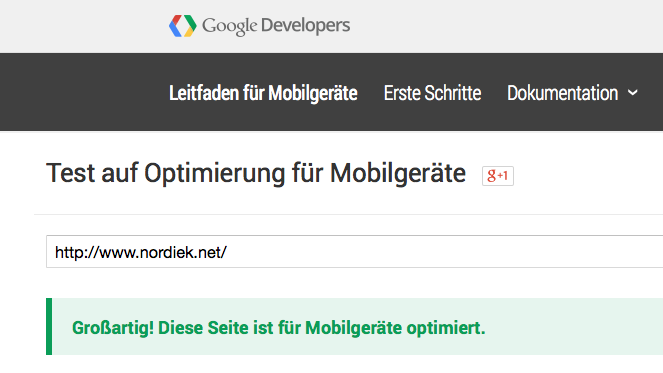 Google mobile-friendly-Test – Ist Ihre Website mobile-optimiert?