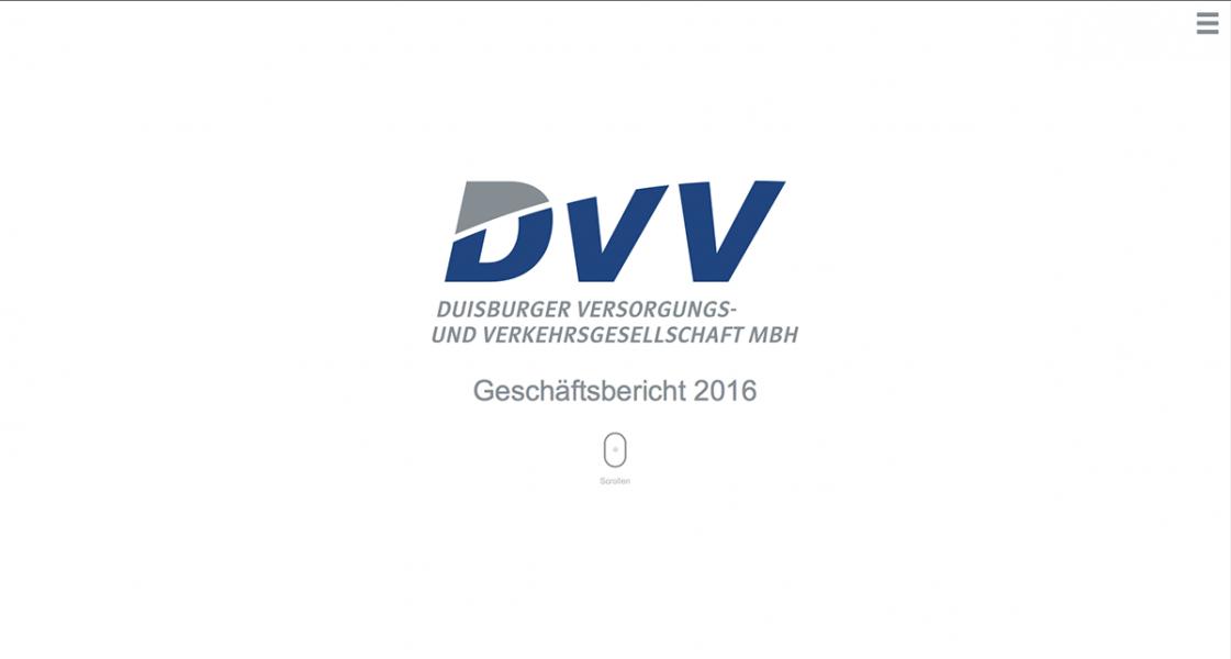 Geschäftsbericht DVV: Intro