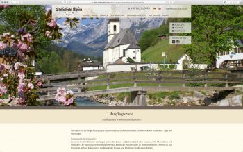 Stoll's Hotel Alpina - Wordpress Relaunch 2017 - Themenseite – nordiek.net