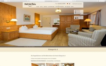 Stoll's Hotel Alpina - Wordpress Relaunch 2017 - Zimmer – nordiek.net